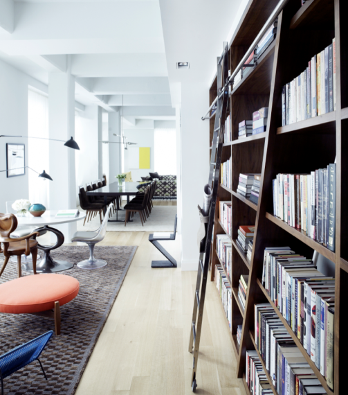 Carol Egan?s open-plan, light-filled loft is full of design classics and custom-made pieces.