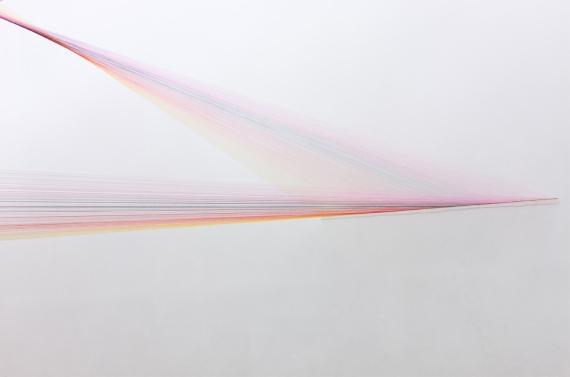 Folds_Medium-_Treads_pins_and_beads_Venue-_Kerlin_gallery_Dublin