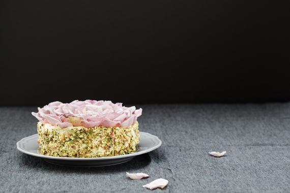 Rose Petal Mother's Day Cake