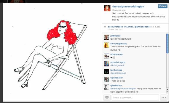 Grace Coddington's rather brilliant response to Instagram