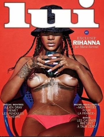 Rihanna's infamous Lui cover
