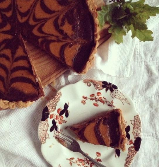 Lilly Higgins' Pumpkin Pie