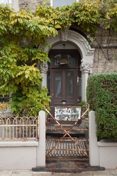 Gate and front door