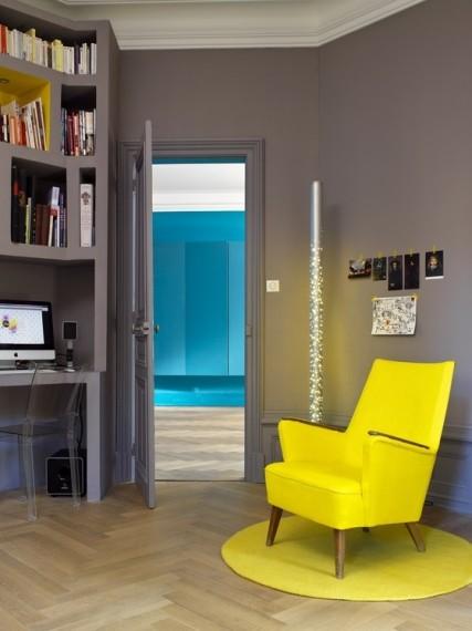 Colourful chair