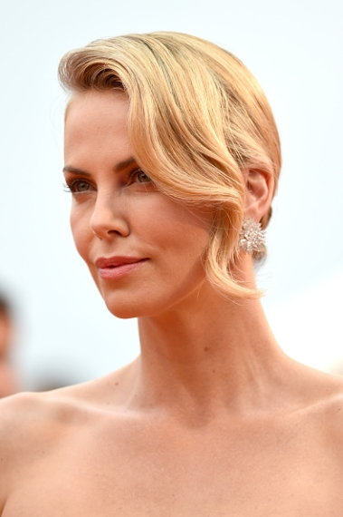 Charlize Theron Stuns in Yellow Dior