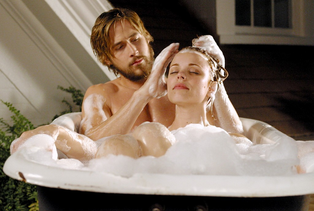 the notebook bath