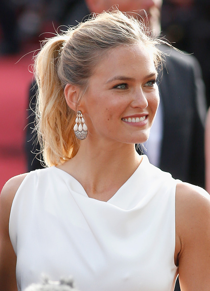 """CANNES, FRANCE - MAY 13:  Model Bar Refaeli attends the opening ceremony and premiere of """"La Tete Haute"""" (""""Standing Tall"""") during the 68th annual Cannes Film Festival on May 13, 2015 in Cannes, France.  (Photo by Tristan Fewings/Getty Images)"""