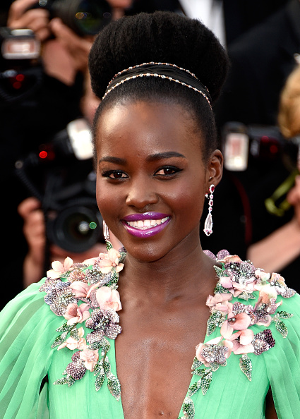 """CANNES, FRANCE - MAY 13:  Lupita Nyong'o attends the opening ceremony and premiere of """"La Tete Haute"""" (""""Standing Tall"""") during the 68th annual Cannes Film Festival on May 13, 2015 in Cannes, France.  (Photo by Clemens Bilan/Getty Images)"""