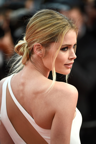 """CANNES, FRANCE - MAY 13:  Doutzen Kroes attends the opening ceremony and premiere of """"La Tete Haute"""" (""""Standing Tall"""") during the 68th annual Cannes Film Festival on May 13, 2015 in Cannes, France.  (Photo by Ian Gavan/Getty Images)"""