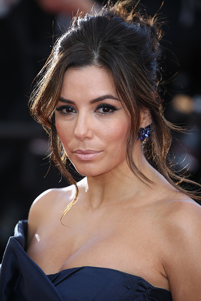 """CANNES, FRANCE - MAY 17:  Actress Eva Longoria attends the Premiere of """"Carol"""" during the 68th annual Cannes Film Festival on May 17, 2015 in Cannes, France.  (Photo by Neilson Barnard/Getty Images)"""