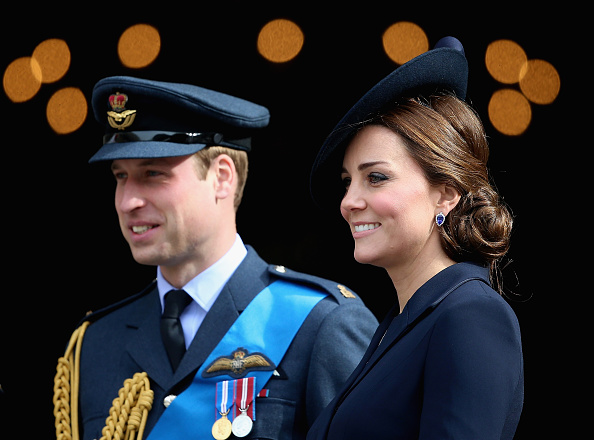 LONDON, ENGLAND - MARCH 13: Prince William, Duke of Cambridge and Catherine, Duchess of Cambridge leave St Paul's Cathedral after a Service of Commemoration for troops who were stationed in Afghanistan on March 13, 2015 in London, England. (Photo by Chris Jackson/Getty Images)