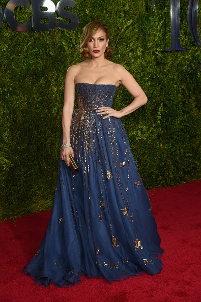 NEW YORK, NY - JUNE 07: Jennifer Lopez attends the 2015 Tony Awards at Radio City Music Hall on June 7, 2015 in New York City. (Photo by Dimitrios Kambouris/Getty Images for Tony Awards Productions)