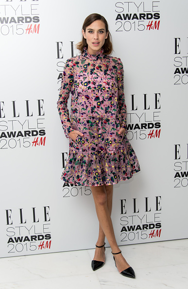 LONDON, ENGLAND - FEBRUARY 24: Alexa Chung attends the Elle Style Awards 2015 at Sky Garden @ The Walkie Talkie Tower on February 24, 2015 in London, England. (Photo by Ian Gavan/Getty Images)