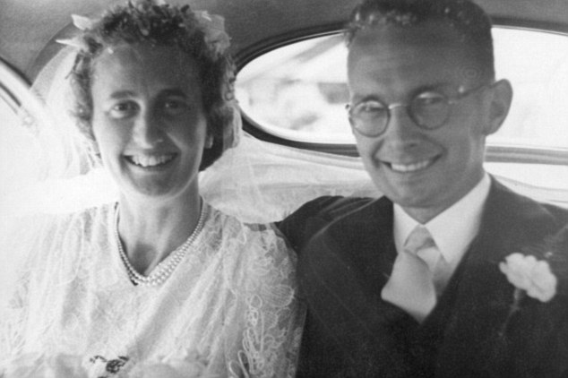 Hugh and Joan Nees Wedding Day