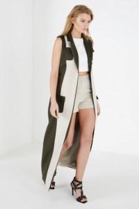 OPSH sleeveless coat
