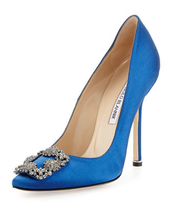 Our favourite style is the blue pump, based on Carrie's shoe for her wedding to Big.
