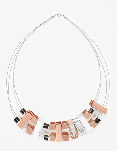 Necklace, €24 (down from €49) at COS