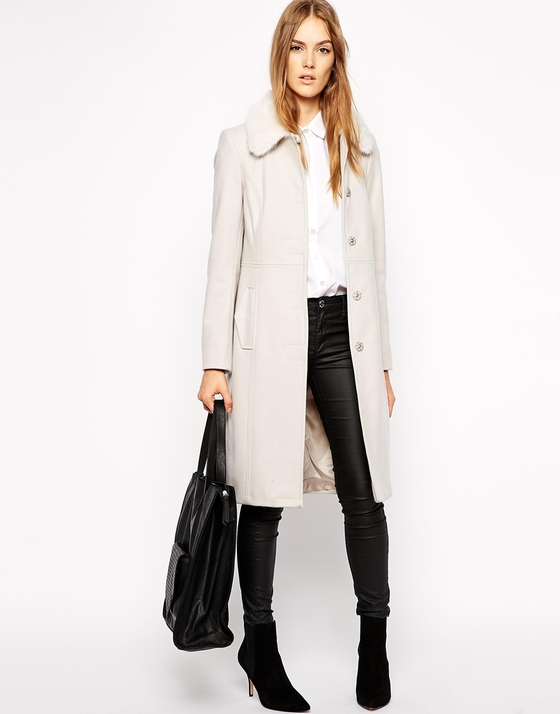 French Connection coat, €147.94 (down from €246.56)