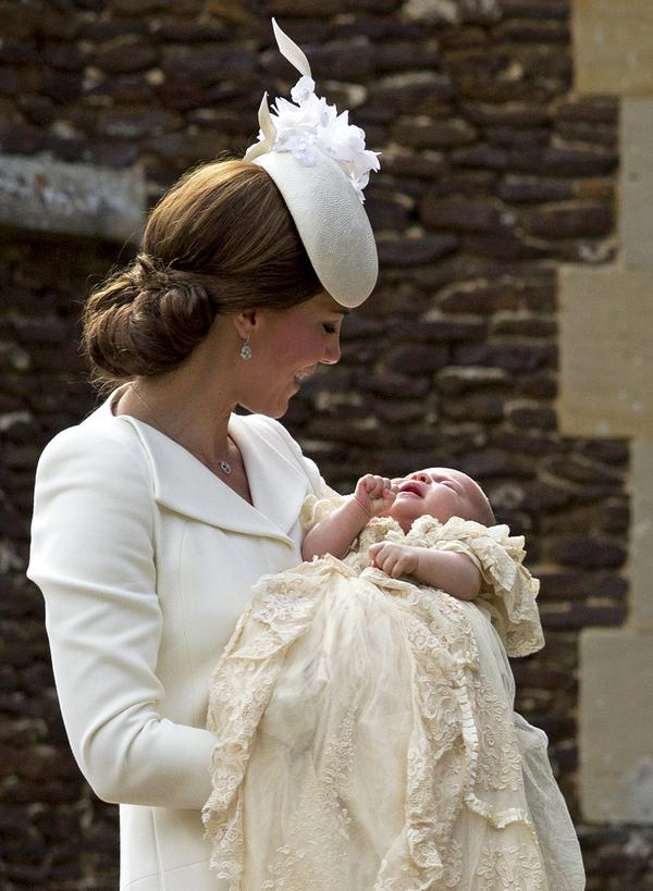 Kate and Princess Charlotte. Pic: Twitter.