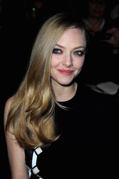 PARIS, FRANCE - MARCH 03: Amanda Seyfried attends the Givenchy Fall/Winter 2013 Ready-to-Wear show as part of Paris Fashion Week on March 3, 2013 in Paris, France. (Photo by Pascal Le Segretain/Getty Images)