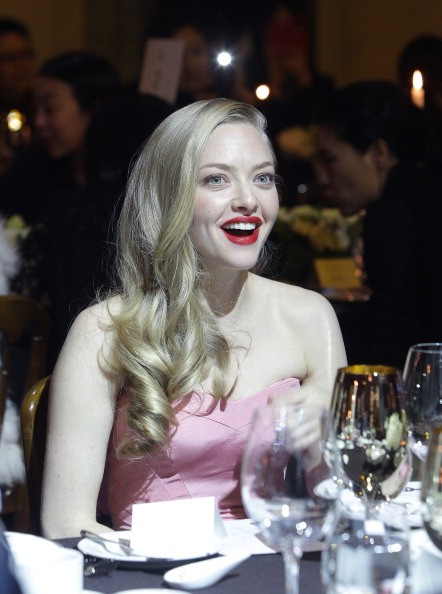 "SEOUL, SOUTH KOREA - DECEMBER 04: Amanda Seyfried attends the Cle de peau BEAUTE ""Muse"" party on December 4, 2013 in Seoul, South Korea. (Photo by Chung Sung-Jun/Getty Images for Shiseido)"