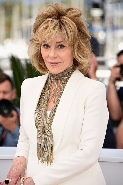 "Jane Fonda attends a photocall for ""Youth"" during the 68th annual Cannes Film Festival on May 20, 2015 in Cannes, France."