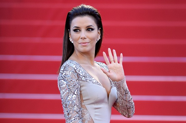 CANNES, FRANCE - MAY 18: Eva Longoria attends the Premiere of