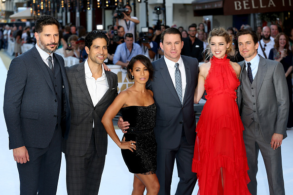 """The European Premiere of """"Magic Mike XXL"""" at Vue West End on June 30, 2015 in London, England."""