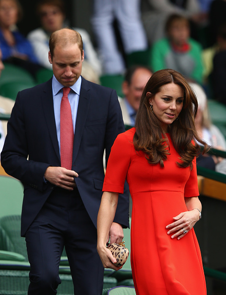 during day nine of the Wimbledon Lawn Tennis Championships at the All England Lawn Tennis and Croquet Club on July 8, 2015 in London, England.