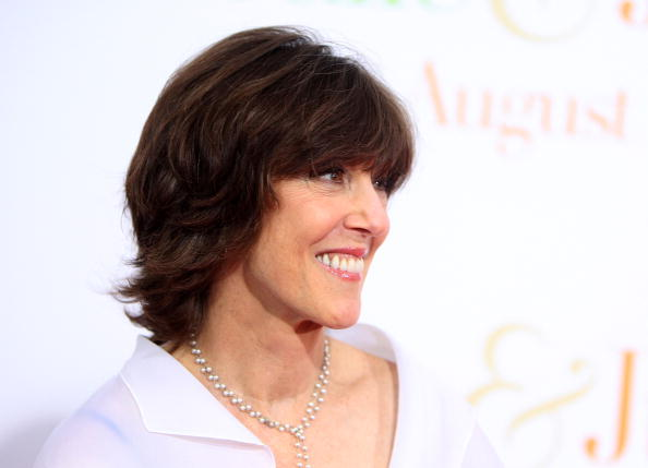 "NEW YORK - JULY 30: Author Nora Ephron attends the ""Julie & Julia"" premiere at the Ziegfeld Theatre on July 30, 2009 in New York City. (Photo by Stephen Lovekin/Getty Images)"