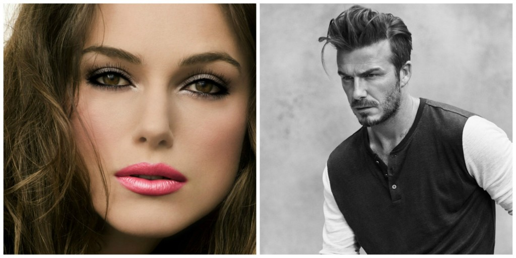Keira Knightly & David Beckham