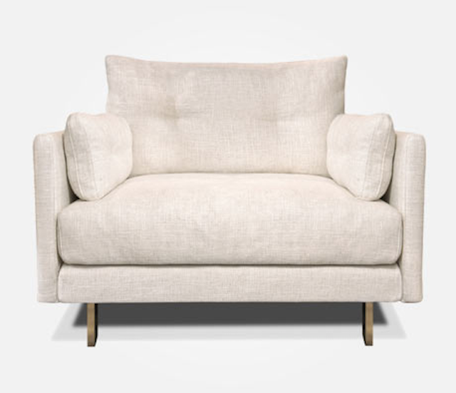 The Malibu extra large armchair from Jonathan Adler from maoliosa.com - image.ie/interiors