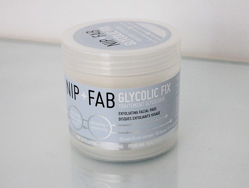 The Nip + Fab Glycolic Fix range is particularly effective.