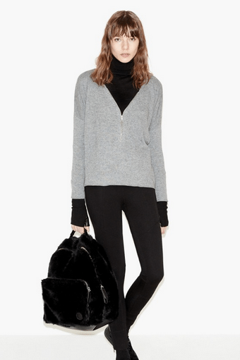 Wool and cashmere cardi, The Kooples, €155