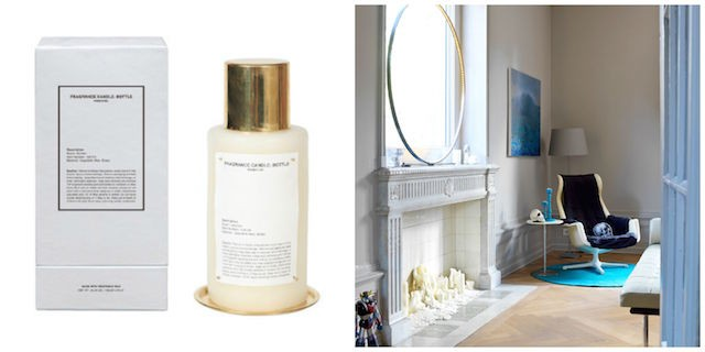 Fragrance bottle from Dust.ie - Living room updates on Image.ie