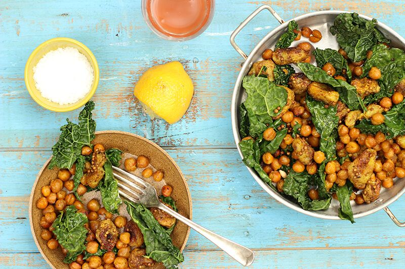 susan jane white chickpea kale banana
