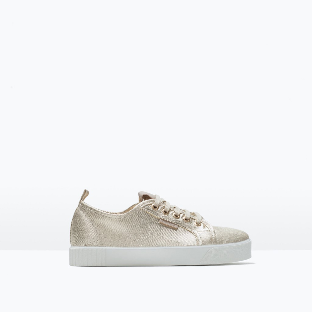 zara tennis shoe