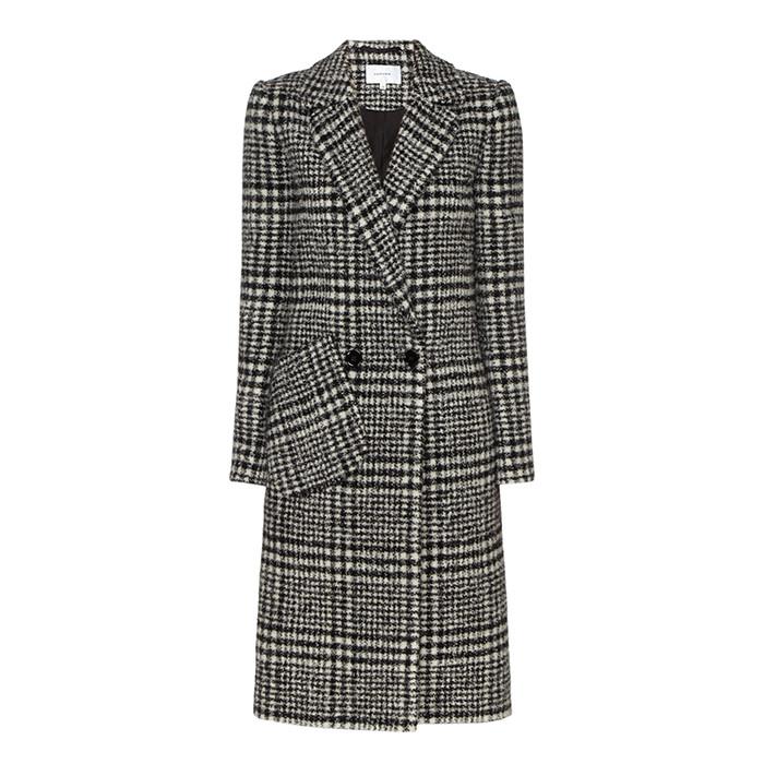 carven print coat