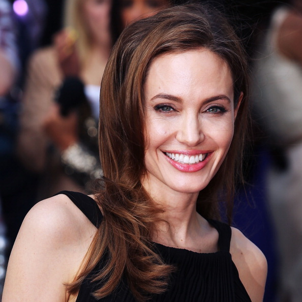 LONDON, ENGLAND - JUNE 02: Angelina Jolie attends the World Premiere of'World War Z' at The Empire Cinema on June 2, 2013 in London, England. (Photo by Tim P. Whitby/Getty Images)