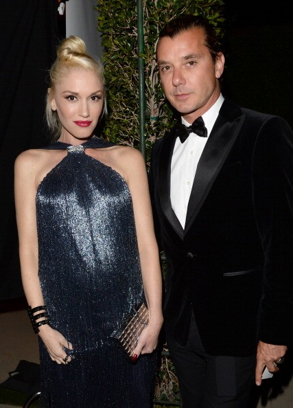 BEVERLY HILLS, CA - OCTOBER 17: Singers Gwen Stefani and Gavin Rossdale, wearing Ferragamo, arrive at the Wallis Annenberg Center for the Performing Arts Inaugural Gala presented by Salvatore Ferragamo at the Wallis Annenberg Center for the Performing Arts on October 17, 2013 in Beverly Hills, California. (Photo by Jason Merritt/Getty Images for Wallis Annenberg Center for the Performing Arts)