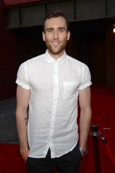 ORLANDO, FL - JUNE 18: Matthew Lewis attends The Wizarding World of Harry Potter Diagon Alley Grand Opening at Universal Orlando on June 18, 2014 in Orlando, Florida. (Photo by Gustavo Caballero/Getty Images)