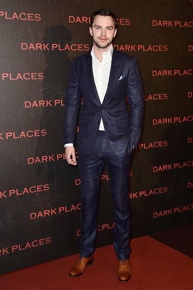 PARIS, FRANCE - MARCH 31: Actor Nicholas Hoult attends the'Dark Places' Paris Premiere at Cinema Gaumont Capucine on March 31, 2015 in Paris, France. (Photo by Pascal Le Segretain/Getty Images)