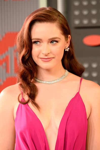 LOS ANGELES, CA - AUGUST 30:  Actress Greer Grammer attends the 2015 MTV Video Music Awards at Microsoft Theater on August 30, 2015 in Los Angeles, California.  (Photo by Frazer Harrison/Getty Images)