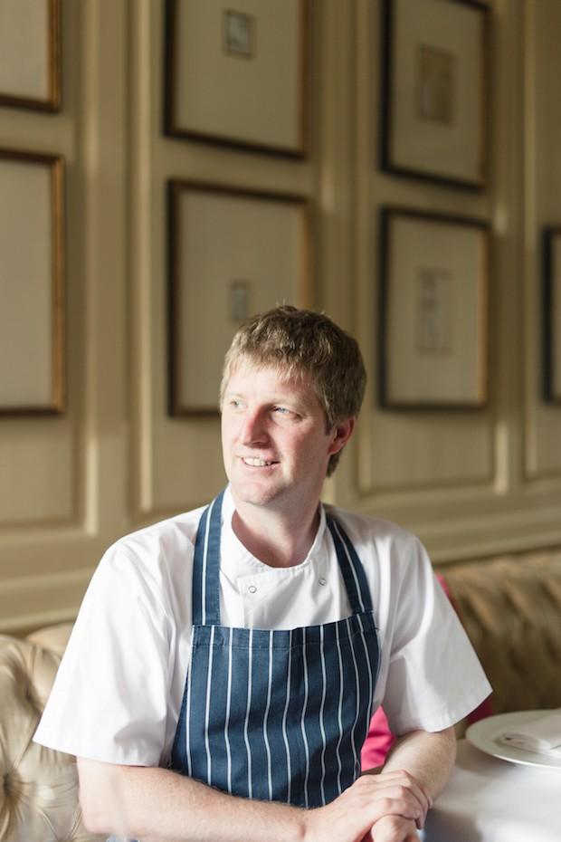 Graham Neville, head chef at Restaurant FortyOne