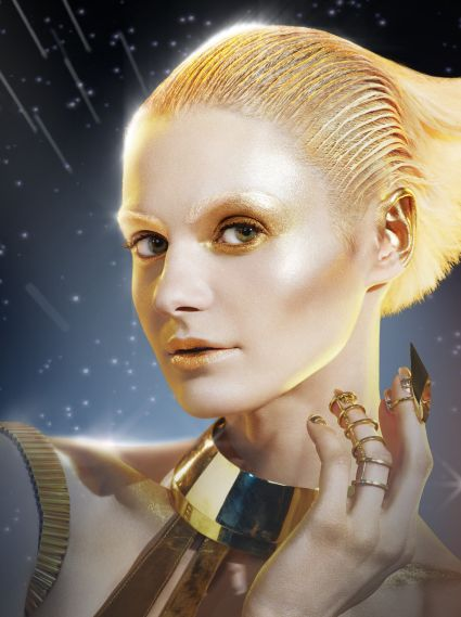 Max Factor Droid Inspired by Star Wars, created by Pat McGrath