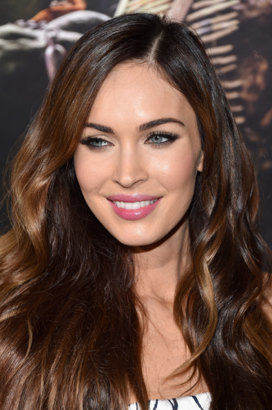 """NEW YORK, NY - AUGUST 06: Actress Megan Fox attends the """"Teenage Mutant Ninja Turtles"""" New York premiere at AMC Lincoln Square Theater on August 6, 2014 in New York City. (Photo by Dimitrios Kambouris/Getty Images)"""