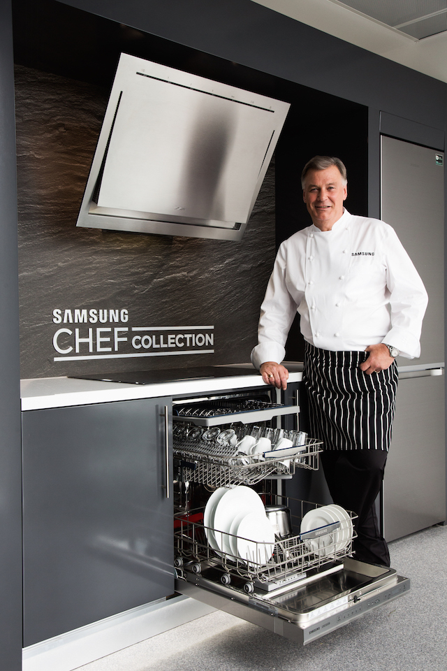 Derry Clarke, new ambassador for the Samsung Chef Collection in Ireland