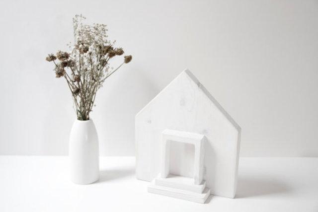 Wooden house by Art Glamour Sligo, €27, Etsy.