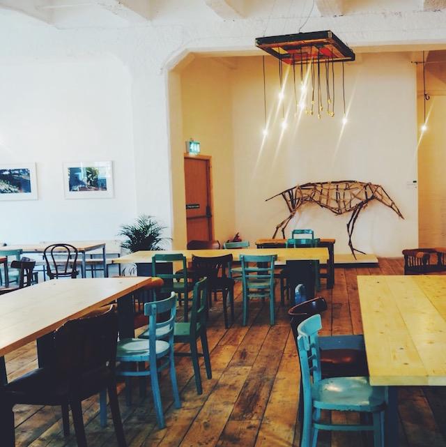 The interior of Blas caf?, King's Inns Street, Dubllin 1