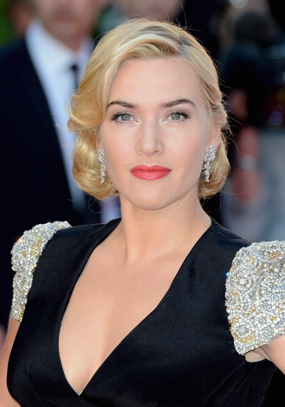 "LONDON, ENGLAND - MARCH 27:  Actress Kate Winslet attends the ""Titanic 3D"" World Premeire at the Royal Albert Hall on March 27, 2012 in London, England.  (Photo by Gareth Cattermole/Getty Images)"